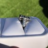 1.80ctw Art Deco French Cut Diamond Twin Stone Ring 20