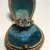 1.83ct Vintage Emerald Cut Ring GIA F VVS2 19