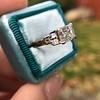 1.83ct Vintage Emerald Cut Ring GIA F VVS2 13