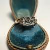 1.83ct Vintage Emerald Cut Ring GIA F VVS2 4