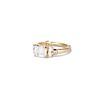 1.83ct Vintage Emerald Cut Ring GIA F VVS2 1