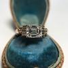 1.83ct Vintage Emerald Cut Ring GIA F VVS2 8