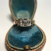 1.83ct Vintage Emerald Cut Ring GIA F VVS2 18