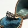 1.83ct Vintage Emerald Cut Ring GIA F VVS2 6