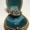 1.83ct Vintage Emerald Cut Ring GIA F VVS2 17