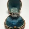 1.83ct Vintage Emerald Cut Ring GIA F VVS2 20