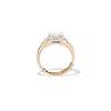 1.83ct Vintage Emerald Cut Ring GIA F VVS2 3