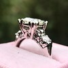1.85ctw Vintage Early Round Brilliant Diamond Ring 8