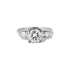 1.85ctw Vintage Early Round Brilliant Diamond Ring 0