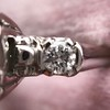 1.85ctw Vintage Early Round Brilliant Diamond Ring 17