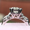 1.85ctw Vintage Early Round Brilliant Diamond Ring 5