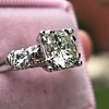 1.85ctw Vintage Early Round Brilliant Diamond Ring 11