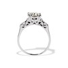 1.85ctw Vintage Early Round Brilliant Diamond Ring 3