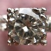 1.85ctw Vintage Early Round Brilliant Diamond Ring 19