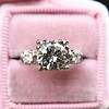 1.85ctw Vintage Early Round Brilliant Diamond Ring 9