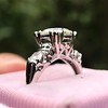 1.85ctw Vintage Early Round Brilliant Diamond Ring 21