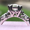 1.85ctw Vintage Early Round Brilliant Diamond Ring 13