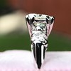 1.85ctw Vintage Early Round Brilliant Diamond Ring 6