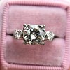 1.85ctw Vintage Early Round Brilliant Diamond Ring 7