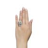1.88ctw Art Deco style Saphhire and Diamond Dinner Ring 6