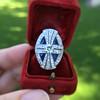 1.88ctw Art Deco style Saphhire and Diamond Dinner Ring 11