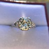 1.88ctw Platinum Filigree Solitaire Ring by C.D. Peacock, GIA S-T, VS 7