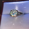 1.88ctw Platinum Filigree Solitaire Ring by C.D. Peacock, GIA S-T, VS 12
