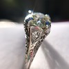 1.88ctw Platinum Filigree Solitaire Ring by C.D. Peacock, GIA S-T, VS 23
