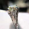 1.88ctw Platinum Filigree Solitaire Ring by C.D. Peacock, GIA S-T, VS 24