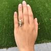 1.90ctw Art Nouveau Trilogy Ring 15