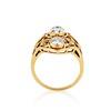 1.90ctw Art Nouveau Trilogy Ring 4