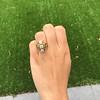 1.90ctw Art Nouveau Trilogy Ring 17