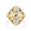 1.90ctw Art Nouveau Trilogy Ring 0