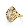 1.90ctw Art Nouveau Trilogy Ring 1