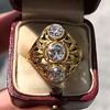 1.90ctw Art Nouveau Trilogy Ring 8