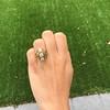1.90ctw Art Nouveau Trilogy Ring 16