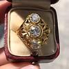 1.90ctw Art Nouveau Trilogy Ring 5