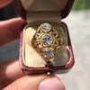 1.90ctw Art Nouveau Trilogy Ring 19