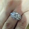 1.95ct Old European Cut Diamond Art Deco Ring, GIA L SI1 17