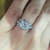 1.95ct Old European Cut Diamond Art Deco Ring, GIA L SI1 7