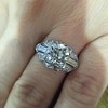 1.95ct Old European Cut Diamond Art Deco Ring, GIA L SI1 14