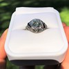 1.96ct Art Deco Old European Cut Diamond Dome Ring 41
