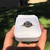 1.96ct Art Deco Old European Cut Diamond Dome Ring 38