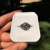 1.96ct Art Deco Old European Cut Diamond Dome Ring 22