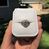 1.96ct Art Deco Old European Cut Diamond Dome Ring 36