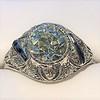 1.96ct Art Deco Old European Cut Diamond Dome Ring 40
