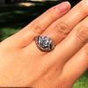 1.96ct Art Deco Old European Cut Diamond Dome Ring 21