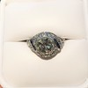 1.96ct Art Deco Old European Cut Diamond Dome Ring 35