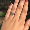 2.00ct Art Deco Asscher Cut Diamond Ring GIA J SI1 18