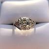 2.00ct Art Deco Asscher Cut Diamond Ring GIA J SI1 36